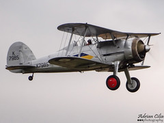 Private --- Gloster Gladiator Mk1 --- G-AMRK (Drinu C) Tags: plane private aircraft military sony duxford dsc gladiator gloster qfo mk1 flyinglegends egsu gamrk hx100v imperialwarmuseums adrianciliaphotography