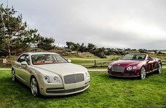 Welcome to Pebble Beach (Nathan Craig | Photography) Tags: spur flying continental gt bentley