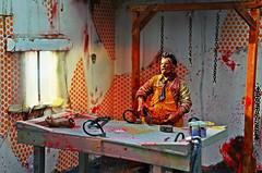The Texas Chainsaw Massacre (RK*Pictures) Tags: sun hot classic toy actionfigure death 1974 blood texas mask skin massacre leatherface chainsaw meat gore cult horror murder hook horrormovie diorama maniac cannibals meathook cruel mcfarlane mcfarlanetoys humanskin moviemaniacs gunnarhansen tobehooper thetexaschainsawmassacre slasherfilm cannibalfamily