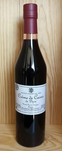 Edmond Briottet Creme de Cassis de Dijon Liqueur