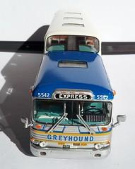 1961  Greyhound GMC PD 4501 Super Scenicruiser (jackrix) Tags: greyhound 1961 scenicruiser superscenicruiser gmcpd4501