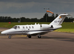 EC-HVQ Cessna 525 CitationJet CJ1 (FlyingAnts) Tags: norwich 525 cessna citationjet nwi egsh cj1 cessna525citationjetcj1 echvq saxonair