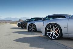 Wheel shot (BanillaBeast) Tags: history cars cali desert shots automotive 66 route dodge chrysler mopar rims westcoast rolling lx wcm vipers r66 mopars vossens westcoastcalimopars