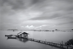 (Micartttt) Tags: sunset silhouette scenery seascapes georgetown malaysia penang bw10stopndfilter micarttttworldphotographyawards micartttt