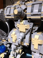 Rear facing ER PPC (Canis Arms Corporation) Tags: robot lego mecha mech battletech moc superheavy