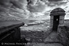 View from Fort Matanzas (Michael Pancier Photography) Tags: nature birds landscape us blackwhite unitedstates florida fort beaches infrared nationalparkservice staugustine fineartphotography northflorida travelphotography commercialphotography naturephotographer michaelpancier michaelpancierphotography floridastateparks fortmatanzasnationalmonument floridaphotography landscapephotographer fineartphotographer michaelapancier historicalfort deepir wwwmichaelpancierphotographycom