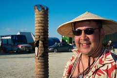 20140826-BRC_2014-53 (level twenty three) Tags: blue bw art portraits fire desert nevada playa burningman blackrockcity brc blackrock burningman2014