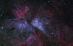 Nebulosa Carina (Delberson Tiago) Tags: