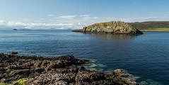 Duntulm rock . (NSJW photos) Tags: skye water rock island scotland duntulmcastle nsjwphotos