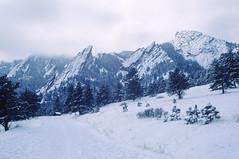 Flatirons in Winter by courtney_meier -