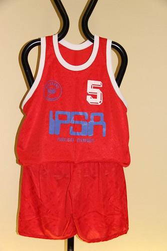 IPSA Collegno Basket Completo Rosso