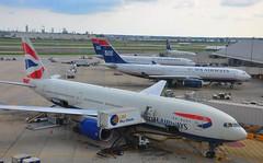 Philadelphia International Airport (sfPhotocraft) Tags: philadelphia hub pennsylvania planes philly ba britishairways phl usairways 2014 internationalairport philadelphiainternationalairport kphl usairwayshub