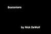ss10-01 (ndpa / s. lundeen, archivist) Tags: color film boston 1971 massachusetts nick slide slideshow 1970s bostonians bostonian dewolf titlecard nickdewolf photographbynickdewolf slideshow10