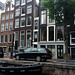 The narrowest house in Amsterdam, The Netherlands
