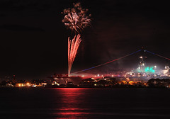 Midway (gpa.1001) Tags: california night sandiego fireworks 4thofjuly independenceday ussmidway