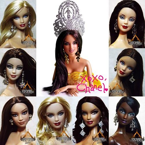 ♥♥♥ Jebor Rivera's Hot Picks for Miss barbie Universe 2014 ♥♥♥