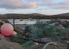 Lochboisdale harbour (moffatross) Tags: scotland uist hebrides southuist lochboisdale