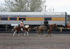 Dusty & Lefty (California Will) Tags: arizona grandcanyon railway
