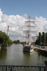 Tall Ship In Klaipeda Prepares to Sail (pcurto) Tags: port balticsea tallship klaipeda lithuania palanga