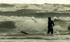 Surf's up (bill.d) Tags: usa cold weather afternoon michigan unitedstatesofamerica sunday windy lakemichigan southbeach southhaven vanburencounty