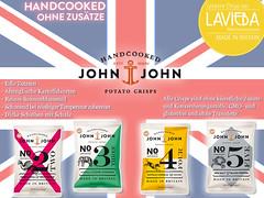 John & John Potato Chips bei LAVIEBA
