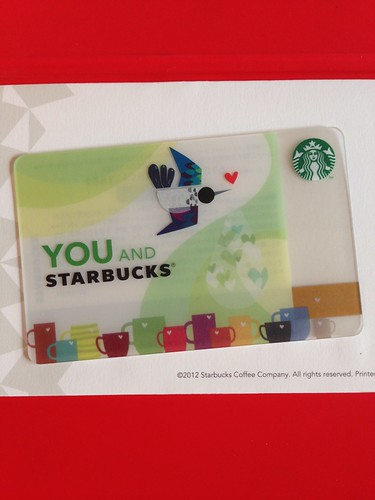 YOU AND STARBUCKS CARD 2014