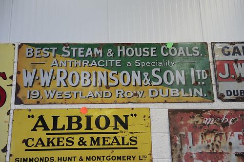 W W Robinson Sign € 350
