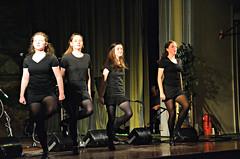Cummins Dancers start the evening off.