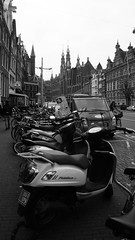 Amsterdam (P i a :)) Tags: city blackandwhite amsterdam canon raw 2014