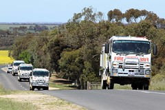 Convoy (adelaidefire) Tags: rescue fire south country australian engineering australia moore sem service aser isuzu cfs strathalbyn