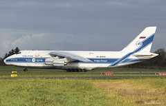 Volga-Dnepr An-124 RA-82042 (birrlad) Tags: shannon snn international airport ireland aircraft aviation airplane airplanes airline airliner airways airlines volgadnepr an124 an124100 cargo freight freighter taxi taxiway runway takeoff departing departure ra82042 gander doncaster vi2494 volga