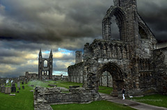St Andrews Cathedral and gravestones (RicardMN Photography) Tags: ruins scotland standrew standrewscathedral cathedral tower abandoned scottish nave romancatholiccathedral fife architecture medieval church standrews scottishreformation romaresque remains thepends arch ricardmn ricardmnphotography gravestones burials gravestone burial tombstone tomb headstone decor decoration hotel cathedrals restaurant tshirts