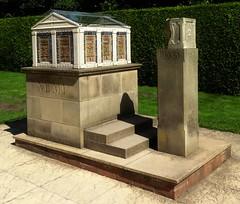 [44909] Rufford Abbey : Shrine of Nemi (Budby) Tags: rufford nottinghamshire abbey sculpture publicart