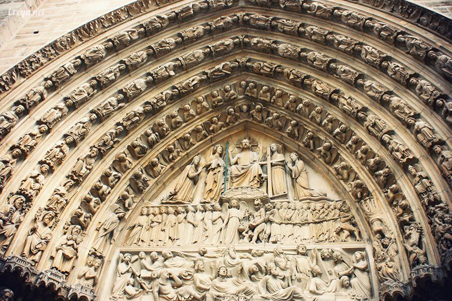 2016.10.02 ▐ 看我的歐行腿▐ 法國巴黎一日雙聖,在聖心堂與聖母院看見巴黎人的兩樣情 18