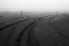 (sparth) Tags: blackwhite blackandwhite bw noirblanc noiretblanc nb brouillard fog foggy beach plage panasoniclumixzs40 panasonic zs40 telephoto washington wa washingtonstate 2014