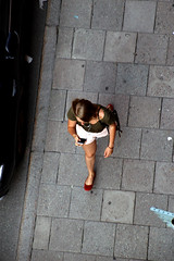 From Above (josephzohn | flickr) Tags: fromabove uppifrn mnniskor people cellphones street streetphoto