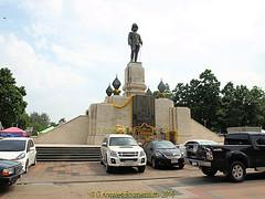 The Royal Monument of King Rama V1 in 2013, Lumphini Park, Pathumwan District, Bangkok,Thailand. (samurai2565) Tags: pathumwan hualamphongrailwaystation bangkok thailand railwaysinthailand bangkokrailwaystation erawanshrine chitlom rama1road skytrain policehospital phloenchitroad lumphinipark