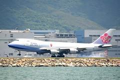 B-18707 (Yiu KM) Tags: boeing 747400 ci china airlines cargo