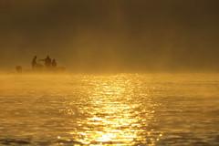IMG_0029x (gzammarchi) Tags: italia paesaggio natura mare ravenna lidodidante alba persona barca monocrome riflesso