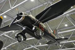 Westland Lysander (V9673) (Bri_J) Tags: iwmduxford cambridgeshire uk iwm duxford airmuseum aviationmuseum nikon d7200 imperialwarmuseum westlandlysander westland lysander raf wwii aircraft v9673