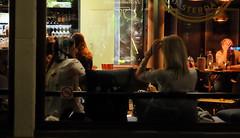 (Lin ChRis) Tags: amsterdam holland netherlands     girls trip travel night evening talking