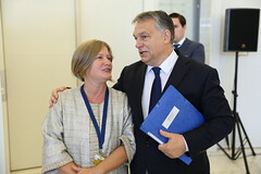 EPP Summit, Maastricht, October 2016 (More pictures and videos: connect@epp.eu) Tags: viktor orbn prime minister fidesz hungary kinga gl vice president european peoples party