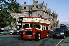 2 Mac Tours (833 AFM) St Andrews Square Aug99 (Copy) (focus- transport) Tags: bristol leyland open toppers
