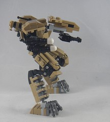 Trident side (donuts_ftw) Tags: lego mecha mech moc robot military missile metalgear