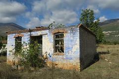 Ruins In Autumn Sunlight. (kostakai) Tags: drama aggitis greece ruins