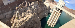Hoover Dam (James B Currie) Tags: hooverdam dam arizona nevada panorama june 2016 travel vacation