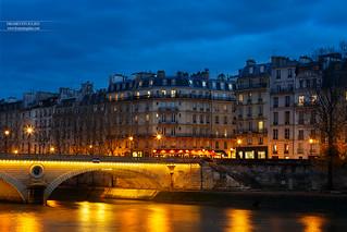 Pont Louis-Philippe & Ile Saint-Louis, Paris