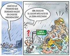 altura (Caricaturascristian) Tags: lluvia y basura rd ciudad santo domingo innundaciones adn ayuntamiento desperdicios