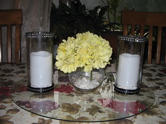 Inexpensive Centerpieces (pamelabrown680) Tags: black yellow centerpieces for weddings or parties wedding