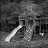 Play Structure with Wind, Portland (austin granger) Tags: wind portland storm playstructure fort slide motion time childhood swing backyard film gf670